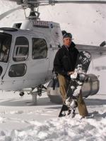 Another one of me infront of the heli